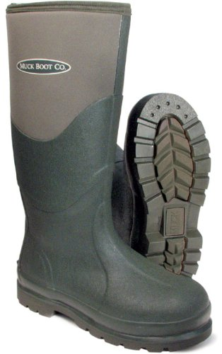 Muck Boot Wellington Esk , Colour: Green, Size: 7