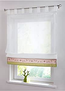 Lifting Rome Window Kitchen Bathroom Curtain