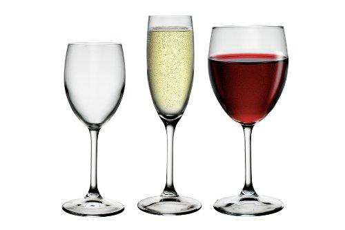 Rocco Bormioli Joy Service de 18 verres à pieds de dégustation