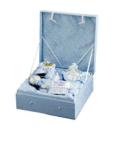 Kurt Adler Noble Gems Baby Boy Ornament Set