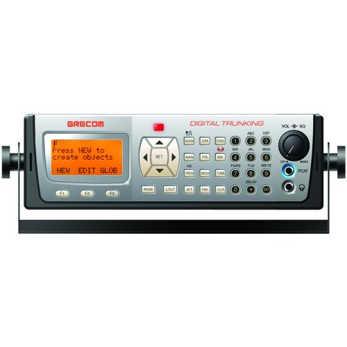 GREAmerica PSR-600 GRE PSR-600 Digital Apco-25 Triple Trunking Base Scanner