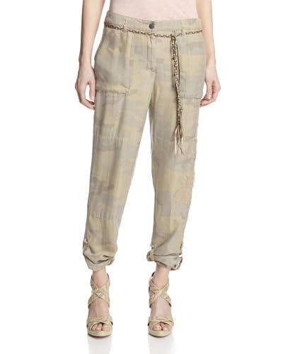 DA-NANG Women's Roll-Up Pants