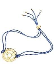 Vishuddha - The Throat Chakra in Gold / Blue