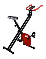 Folding Magnetic Exercise X-Bike Fitness Cardio Workout Weight Loss Machine