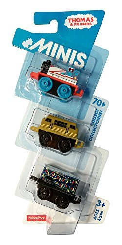 "Thomas & friends 1"" MINIS 3 ct pack. CHL64/CHL60 (Gordon, Diesel 10, Sidney)"