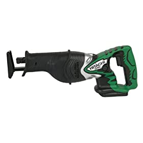 Bare-Tool Hitachi CR18DLP4 18-Volt Lithium-Ion Reciprocating Saw (Tool Only, No Battery)