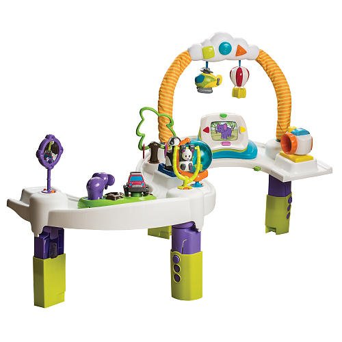evenflo exersaucer triple fun jungle instructions