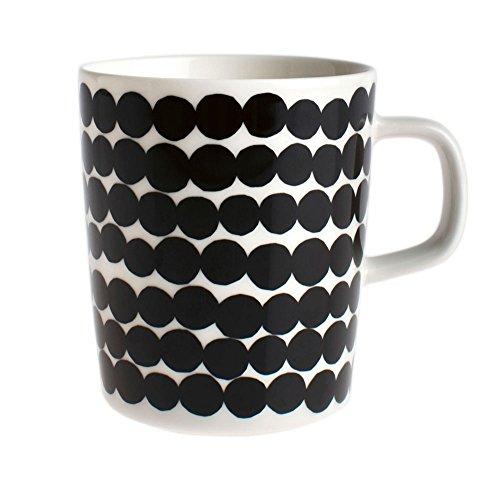 marimekko-oiva-rasymatto-tasse-025-l-noir-blanc