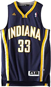 NBA Indiana Pacers Danny Granger Road Swingman Jersey Navy by adidas