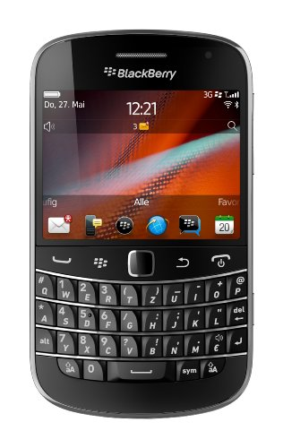 BlackBerry BlackBerry Bold 9900 Smartphone (7,1 cm (2,8 Zoll) Display, Touchscreen, 5,1 Megapixel, QWERTZ) schwarz