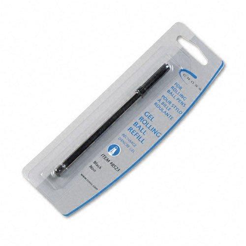 Cruz de repuesto para Selectip Gel bolígrafo de punta redonda, tamaño mediano, de tinta negra