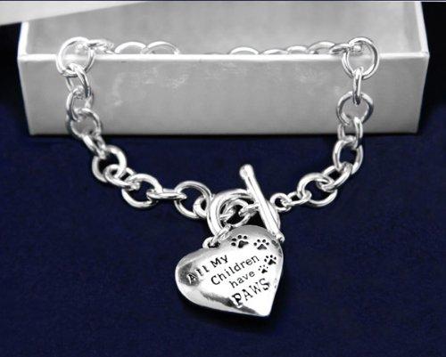 All My Children Have Paws Bracelet (18 Bracelets)