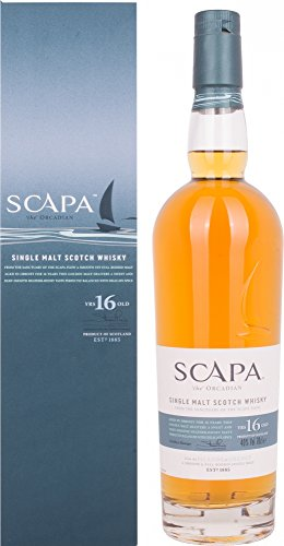 Scapa 16 Year Old Scotch Malt Whisky, 70 cl