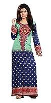 TrendyFashionMall Womens Printed Kaftans Abayas Multiple