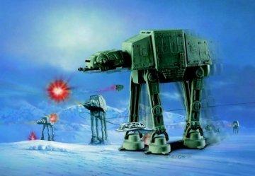 Star Wars At-at Snapfast Wind-up Action Model Kit AMT