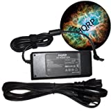 HQRP AC Adapter Charger for Toshiba Satellite A305-S6825 A305-S6829 A305-S6833 A305-S6834 A305-S6837 A305-S6839 A305-S6841 A305-S6843 A305-S6844 ~ HQRP