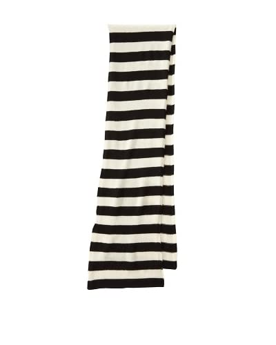 Portolano Women's Cashmere Striped Scarf