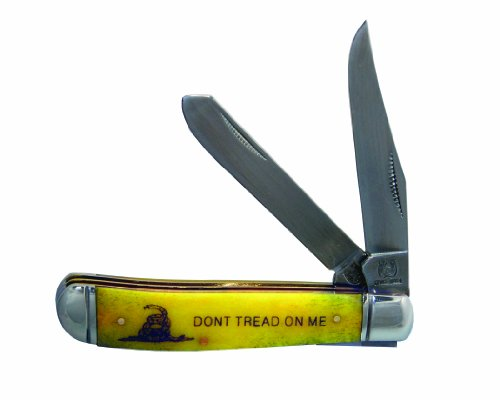 Factory X Rough Rider Don't Tread On Me Knife