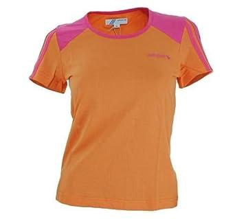 Adidas OB Crew Tee Damen Originals Lifestyle T-Shirt - Orange - Gr. XS