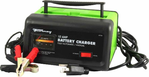Forney 52722 Battery Charger, 10-Amp, 12-Volt