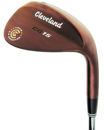 Cleveland CG15 Oil Quench Trac Tour Zip Wedge - Low Bounce (Right Hand, Steel, 58 degrees)