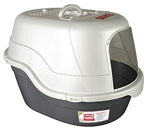 Nature's Miracle Advanced Hooded Cat Litter Box (P-96951) (Natures Miracle Litter Box compare prices)