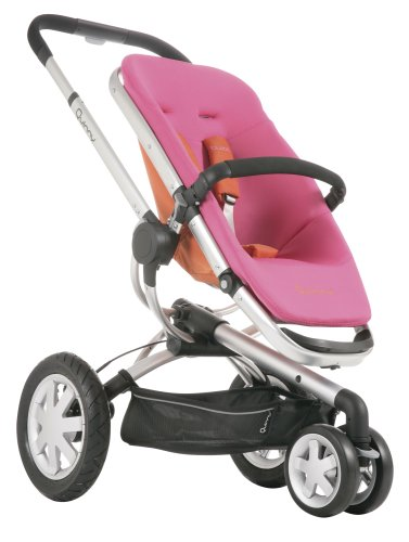 Cheap Quinny Stroller: Quinny 2008 Buzz 3 Wheel Stroller, Pink