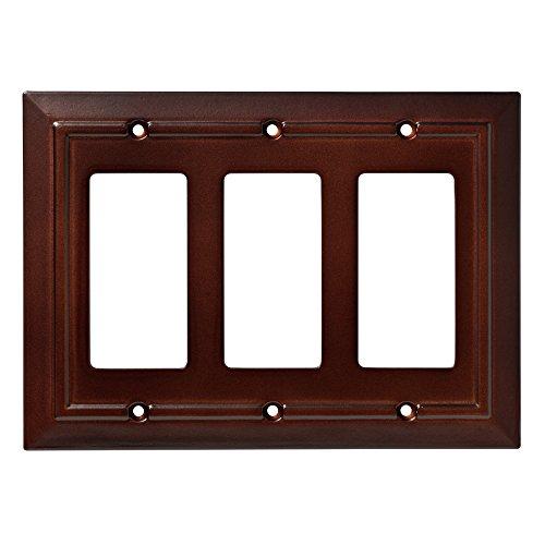Franklin Brass W35250-ESO-C Classic Architecture Triple Decorator Wall Plate/Switch Plate/Cover, Espresso (Espresso Wall Plate compare prices)