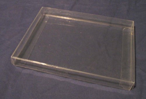 Clear Plastic Packaging Boxes, Made to Fit 4.5