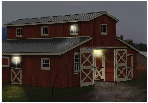 Ohio Wholesale Radiance Lighted Horse Barn Canvas Wall Art, From Our Everyday Collection