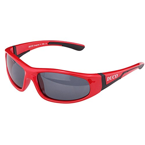duco-kids-sports-style-polarized-sunglasses-rubber-flexible-frame-for-boys-and-girls-k002-red