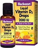 Liquid Vitamin D3 Drops, 2000 IU, Natural Citrus Flavour, 1 fl oz (30 ml)