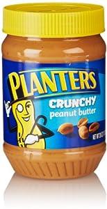 Planters Crunchy Peanut Butter, 28 Oz
