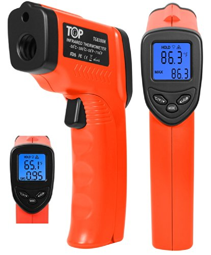TopG TG8380H -58 °F to +716°F Temperature Gun