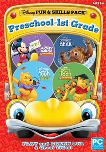 Encore Disney Fun Skills Preschool 1st Grade Sb Mickey Mouse Kindergarten Brother Bear