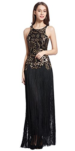 Merope-J-Womens-Sequined-Embroidery-Sleeveless-Flapper-Cocktail-Wedding-Dress