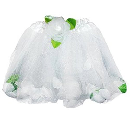 Fairy Princess Petal Tutu (More Colors...) Select Color: white - 1