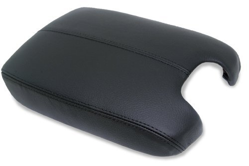 Honda Accord Leather Console Lid Armrest Cover Black (Leather Part Only) (Civic Center Console compare prices)