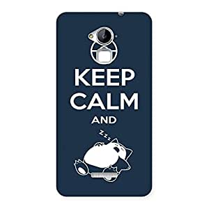 Special Keep Calm And Sleep Back Case Cover for Coolpad Note 3