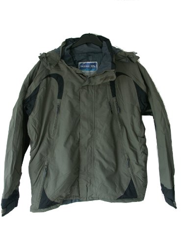 Mens Trespass UNCOVER Waterproof Coat Jacket UK XL 44 - 46 inch Chest