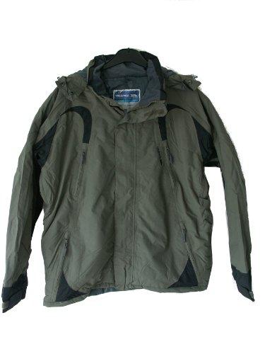 Mens Trespass UNCOVER Waterproof Coat Jacket UK XL 44 - 46 inch Chest