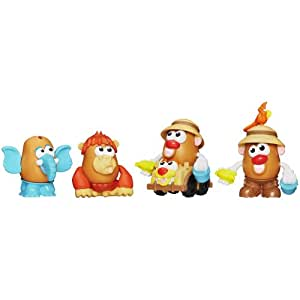 Mr Potato Head Mr Potato Head Potato Head Playskool Mr. Potato Head Little Taters Big Adventures Spud Safari Set