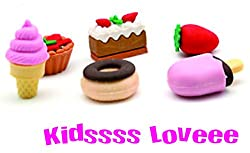 COI 3D PASTRY , ICE CREAM ERASER SET FOR KIDS-K0019_21
