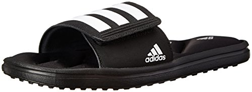 Adidas Performance Men'S Zeitfrei Ff Slide Sandal, Core Black/White/Black, 13 M Us front-146433
