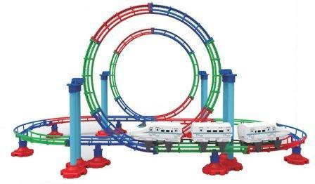 Train Coaster Grand-Roller Bullet Train set