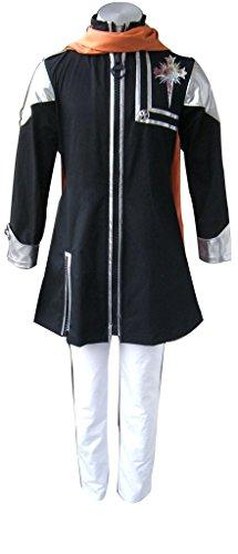 Mtxc Men's D.Gray-man Cosplay Costume Lavi 1st Size Large Black (D Gray Man Lavi Cosplay Costumes)