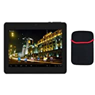 Adcom 3D Tablet 707D /Jelly Bean/Dual Camera/3G-Black with free Pouch