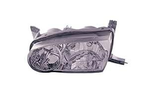 2001-2002 Toyota Corolla Headlights /w Amber Corner Light (Black)