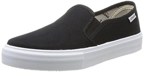 Calego - Slip On Lona, Sneakers  da unisex adulto, nero(noir (negro)), 39