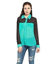 Colour Block Shirt Small